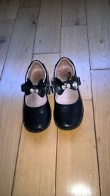 lelli kelly black patent shoes size 10