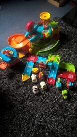 Vtech Toot Toot Garage Bundle