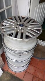 4 17 inch alloy wheels for sale.