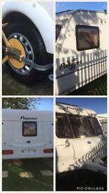 Bailey Pageant Loire 4 Birth touring caravan with porch awning 2003