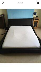 King size bed frame (NOT MATTRESS)