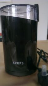 NEW Krups Coffee,Beans & Spices Grinder F203 Twin Blade 75g 200W