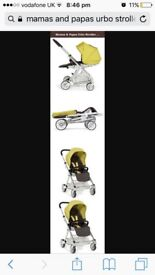 £80 bargain mamas papas pushchair with car seat