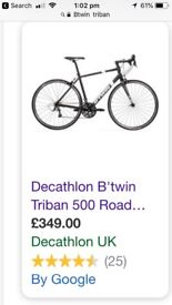 Bike for sale, looking for reasonable offers, in good condition