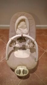 Mamas & Papas Capria Barnaby Buttons Bouncing Cradle / Baby Bouncer