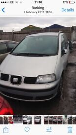 Lhd seat Alhambra diesel 7 seater in fantastic condition