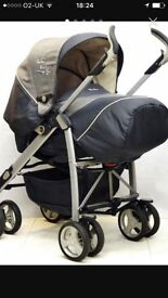 Silver cross 3D travel system