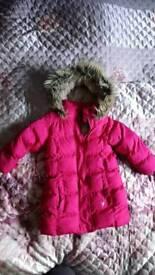 Girl's 3-4 years winter coat