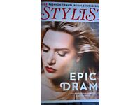 Kate Winslet Cover Stylist Magazine 4 Page Interview Inside