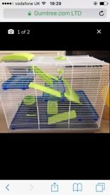 New and never used hamster, dwarf hamster, gerbil cage