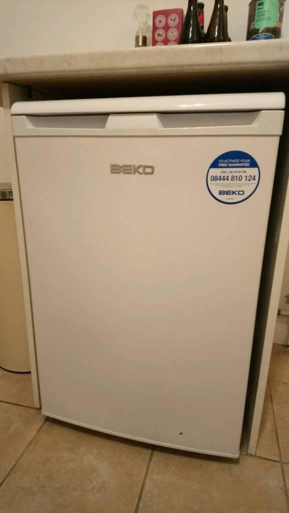 Under the counter Beko freezer