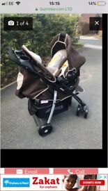 Winnie the Pooh buggy and car seat
