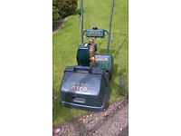 Atco Commodore B14 Cylinder petrol lawn mower. Self drive. Good working order.