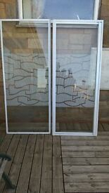 shower screen, shower cubicle glass panel and door