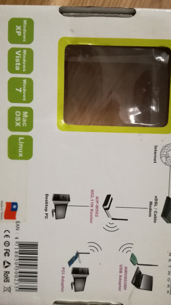 Alpha USB Wifi Dongle AWUS036NH with extra 7dBi and 9dBi aerials | in Hull,  East Yorkshire | Gumtree