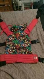 Marvel superhero buckle carrier