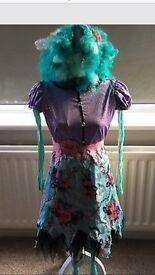 Monster high honey swamp costume