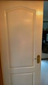 White Internal doors, with furniture 8 no