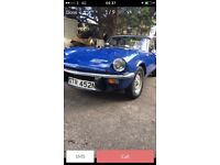Triumph spitfire good condition tax except true classic