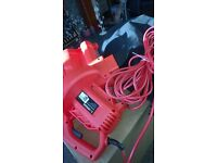 SOVEREIGN CORDED GARDEN BLOWER...2600W VAC...NEW..NEVER USED..STILL IN BOX...