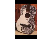 Original Hand Painted Guitar