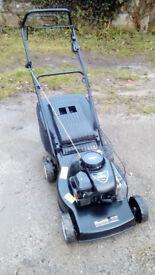 Petrol Mountfield self propelled lawnmower