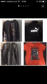 Boys clothes bundle age 13-15