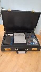 linguaphone french course CD's & tuition books in brief case