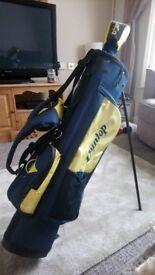 Dunlop loco junior left handed golf clubs