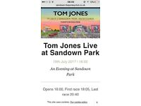 4 x Tom Jones at Sandown RacePark