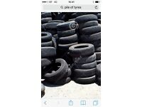 Part worn tyres for sale car and van