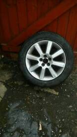 Wanted 17 inch toyota avensis alloy wheels