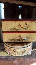 OLD COLLECTABLE TINS