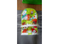 Fisher Price vibrating jungle bouncy chair