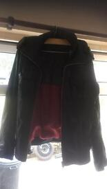 SuperDry leather jacket Size L
