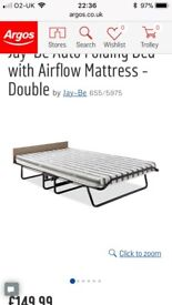 Jay-Be Folding Guest Bed Double with airflow mattress