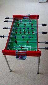 Table football game with ball
