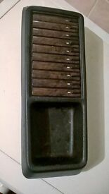 MERCEDES BENZ 300 (W124) Fischer C-Box AUDIO CASSETTE HOLDER