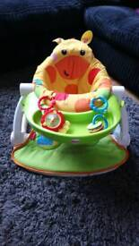 Fisher price giraffe sit me up floor support seat