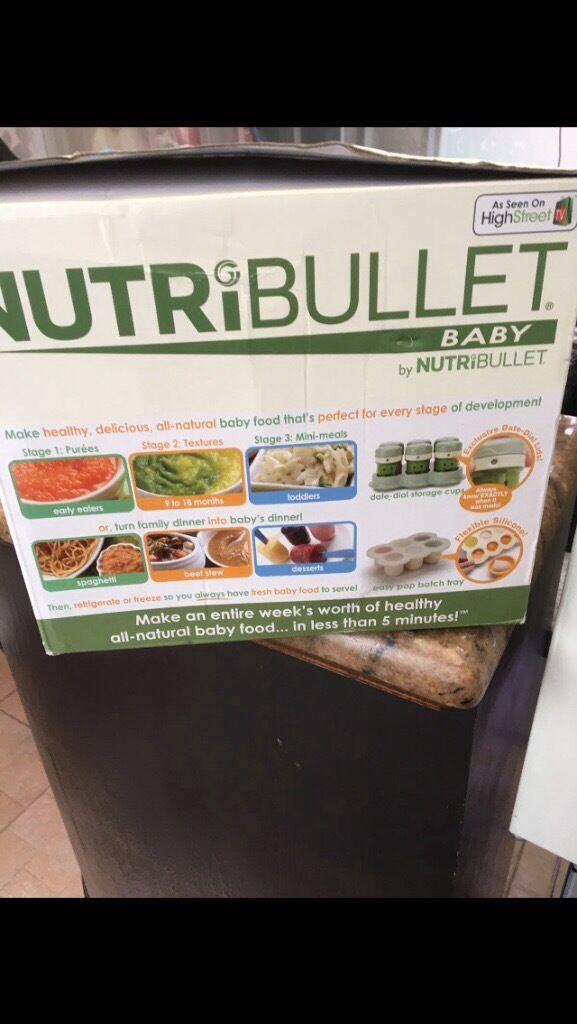 Baby nurti bullet