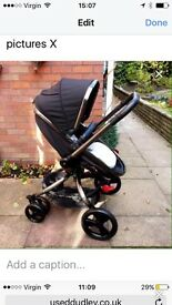 mothercare Orb Pushchair in liquorice..Excellent condition