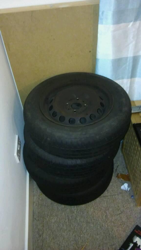 Car wheels x4 14 inch