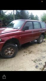 Mitsubishi sport breaking for spares