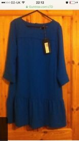 New with tags blue dress size 12
