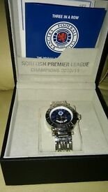 RANGERS WATCH WITH DISPLAY BOX