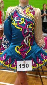 Irish dancing dress would suit tall u11/u12