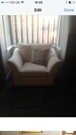 2x 3 seater sofa and armchair for sale