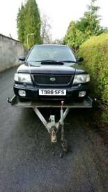 Subaru Forester Turbo headlights