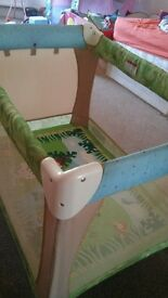 travel cot bed fisher price