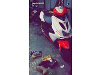Yamaha aerox 50cc moped ped not a quad pit bike crosser mx